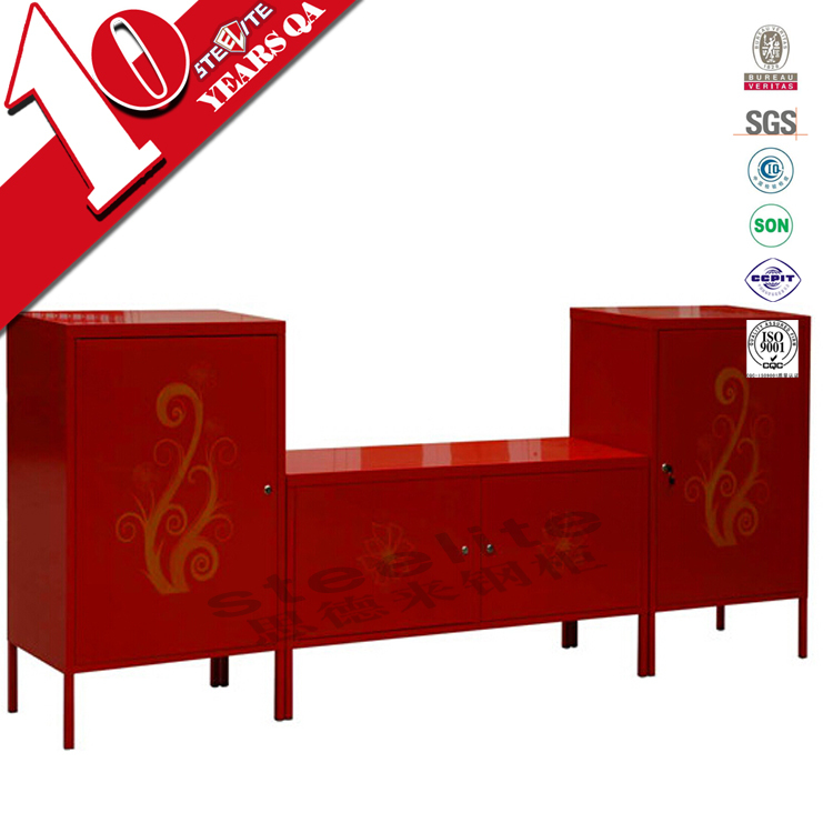 steel hanging tv cabinet / modern white or red ikea ps storage ...
