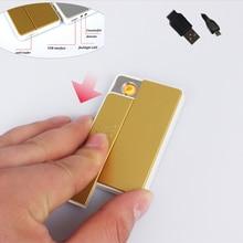 Windproof USBชาร์จเบาพลาสติกชีพจรอิเล็กทรอนิกส์ซิการ์เบามีLEDมินิไฟฉายและเครื่องตรวจจับเงินปลอม