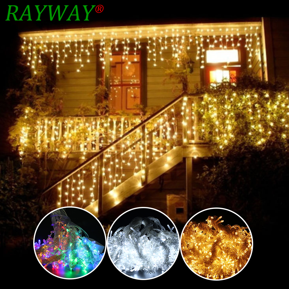 6M x 3M 600 LED Home Outdoor Holiday Christmas Decorative Wedding - Holiday Lighting