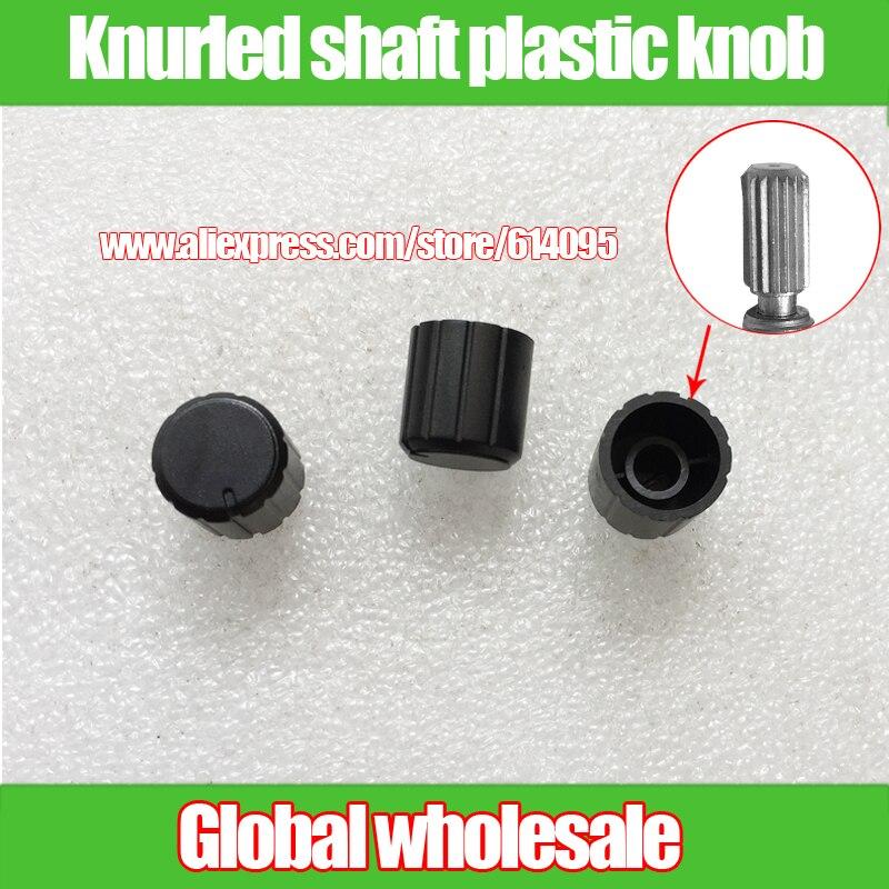 10 PCS New Potentiometer Knob Gray-Blue for 6mm Shaft Pots