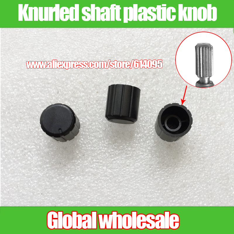 half Shaft Hole With The Flower Shaft Hole Plastic Knob 15x13.5mm Potentiometer Cap Switch Button Encoder Cap Multiple