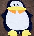Pinguim bonito Do Bebê Saco de Dormir Saco de Dormir Saco de Inverno Bebe Cochecito Sono Sack Saco de Dormir Recém-nascidos