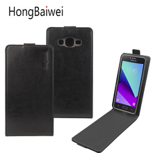 Leather Flip Case For Samsung Galaxy J2 Prime J1 Mini J3 J5 J7 Prime A3 J3 A5 J1 2016 2017 Euro Version G530 S7 S8 Plus A8 Cover