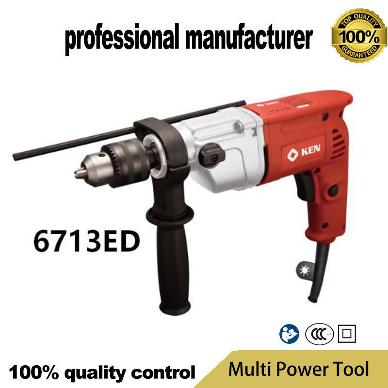6713ED electrical impact driller for wood steel hole for cement broken at good price цена