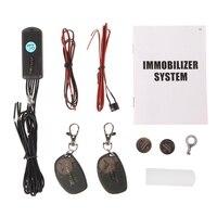 Sistema inmovilizador de coche inalámbrico RFID 2 4 GHz bloqueo del motor corte de circuito inteligente anti robo con sensor G (acelerómetro)|Alarma antirrobo|Automóviles y motocicletas -