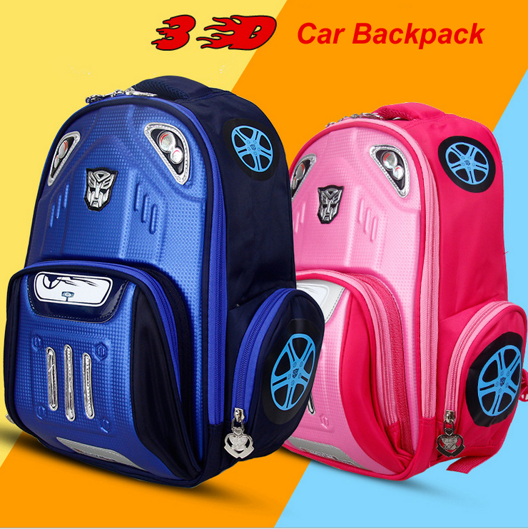 Aliexpress.com : Buy 2015 cool 3D school bags for boys cars ...