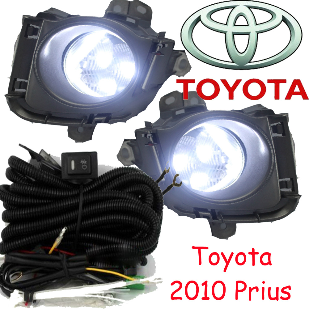 ФОТО car-styling,Prius LED light,2010,Free ship!2pcs,Prius fog light;car-covers,Prius headlight,car covers,Chrome