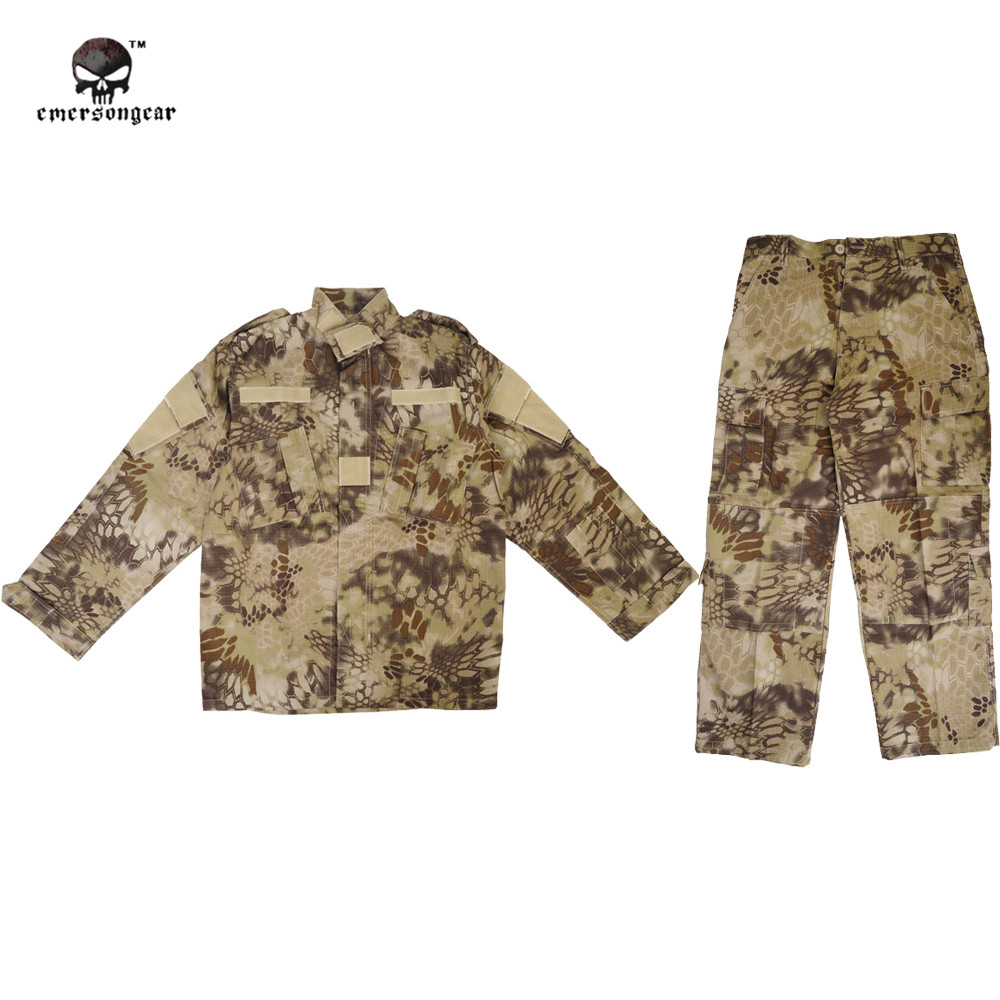 Men's Military BDU Combat Tactical Uniform Ghillie Suit Zipper Cotton Polyester Field Shirt Pant Camouflage Hunting Airsoft usmc digital urban camo v3 bdu uniform set war game tactical combat shirt pants ghillie suits