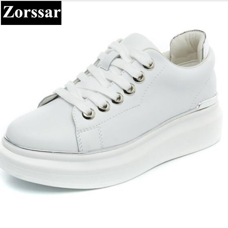 {Zorssar} 2017 NEW  leisure flat woman Platform shoes comfortable flats womens loafers fashion Lace up Solid Female casual shoes платье season 4 reason season 4 reason mp002xw1alen