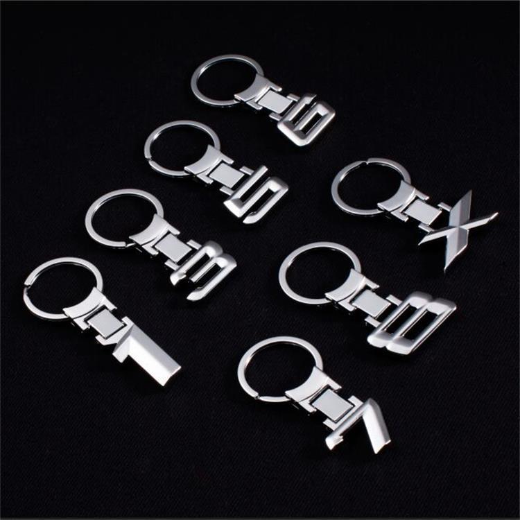 Zinc Alloy Key Chain Keychain Car Emblem Keychain Key Rings Emblem For BMW 1 Series 3 Series 5 Series 6 7 8 X Series Car Stylin title=