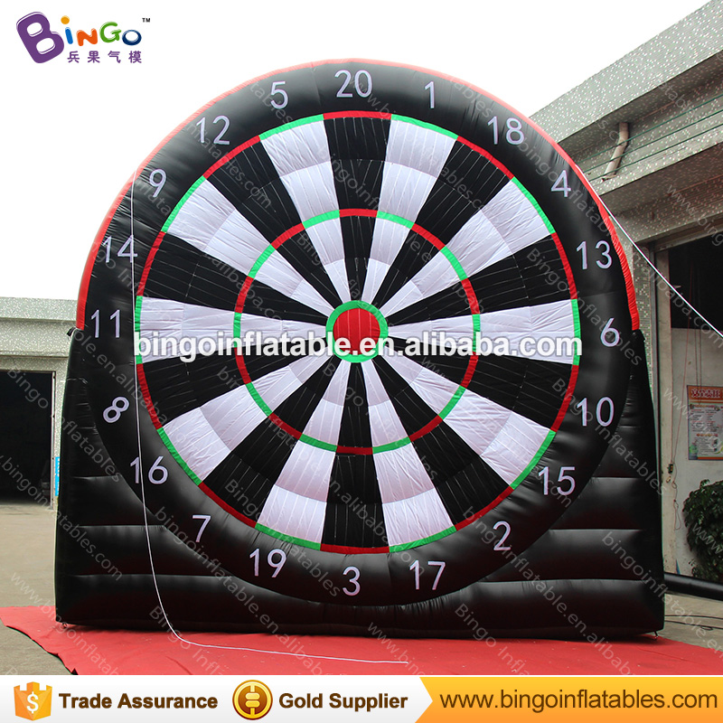 5M*5M Board Game Inflatable Soccer Dart Board Giant Inflatable Games Inflatable Football Dart Board Toys for Children N Adults twister family board game that ties you up in knots