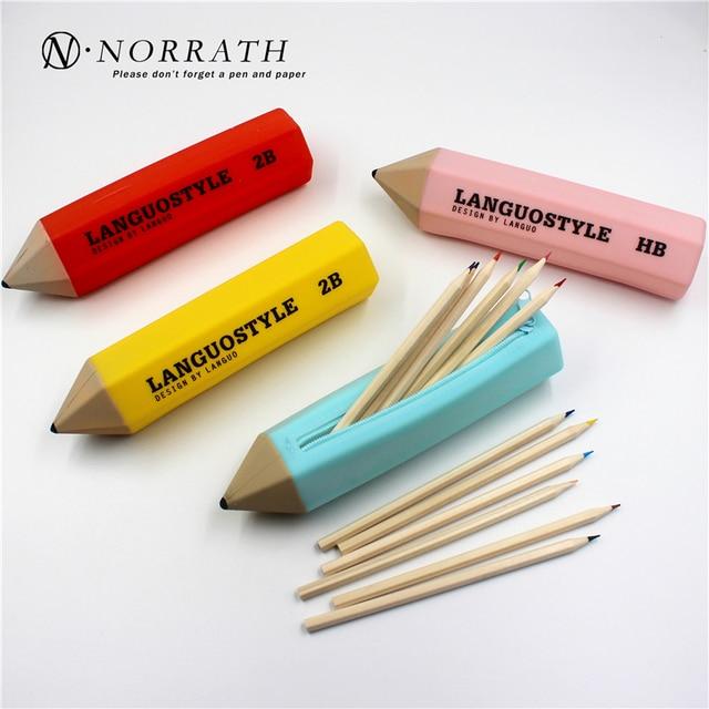 Творческий офис школьные канцелярские пенал карандаш Форма конфеты Цвета 4 цвета доступны многофункциональный мешок ручки