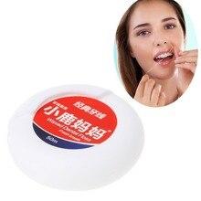 Олененок мама 1 коробка 50 м зубная нить Зубы Чистая зубная нить зубочистка зубы Флоссер 4,5 см