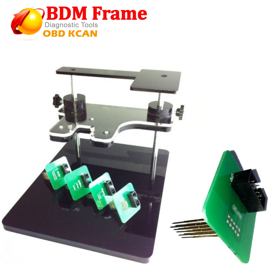 High Function BDM FRAME Ecu Chip Tuning Bdm Frame LED With Adapters BDM Probe Adapte For KESS KTAG FGTECH V54 BDM100 CMD100