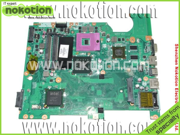 NOKOTION Laptop Motherboarfor HP CQ61 series mother boards 578000-001 PGA478 PM45 graphics DDR2 Mainboard free shipping nokotion laptop motherboard for acer 1810t mother boards mbsa106002 da0zh7mb8c0 intel ddr2 full tested mainboard