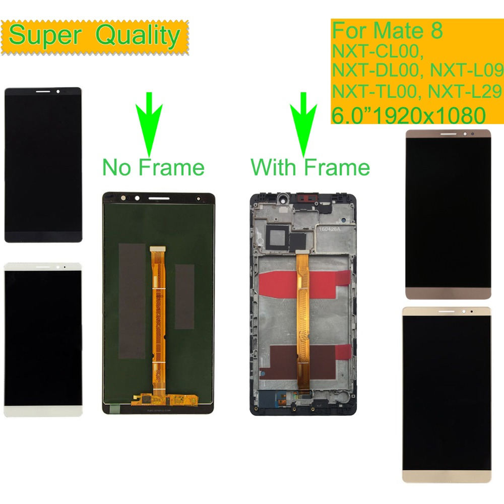 """Image 3 - 6.0"""" For HUAWEI MATE 8 LCD Display Touch Screen Digitizer Assembly With Frame NXT AL10 NXT CL00 NXT DL00 NXT TL00 NXT L29-in Mobile Phone LCD Screens from Cellphones & Telecommunications"""