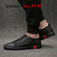 Male Shoes Adult Chaussure Homme Trend Krasovki Men Superstar Shoes Summer Size 13 Mens Shoes Canvas Sneakers