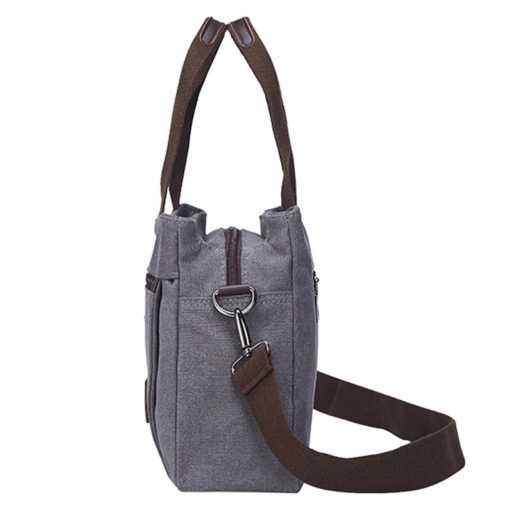 Womens Bags Casual Totes Solid Color Canvas Shoulder Messenger Bags Student School Travel Handbags Bolsos Hombre Bags For Women