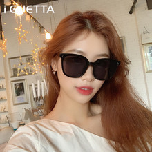 iGUETTA Sunglasses Women 2019 Black Polarized Sunglass Large Sun Glasses Retro Oculos De Sol Feminino UV400 IYJA587