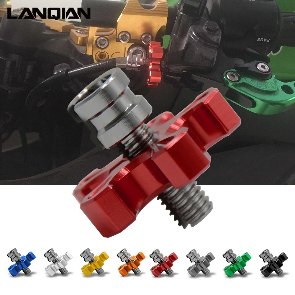 8mm/10mm Motorcycle CNC Aluminum Clutch Cable Wire Adjuster For HONDA CBR 250RR 300RR 600RR 1000RR 250R 650F 600F4i 500R 190R motorcycle accessories throttle line cable wire for honda cbr250 cbr 250 cbr19 mc19