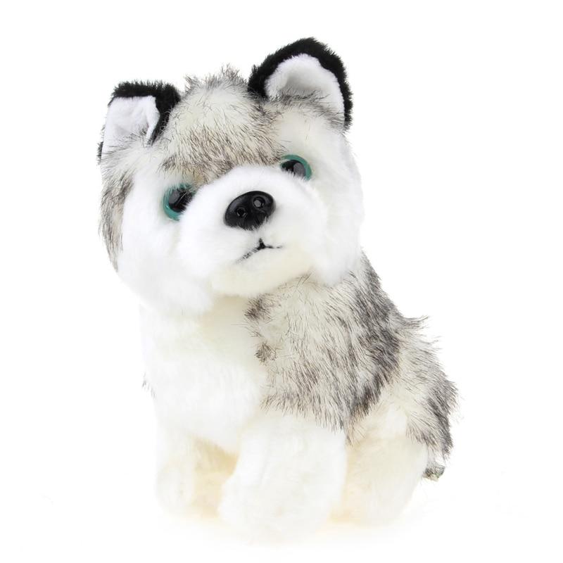Plush Stuffed Husky Dog Toy Doll Birthday Girlfriend Baby Kids Children Gift in Stuffed Plush Animals from Toys Hobbies