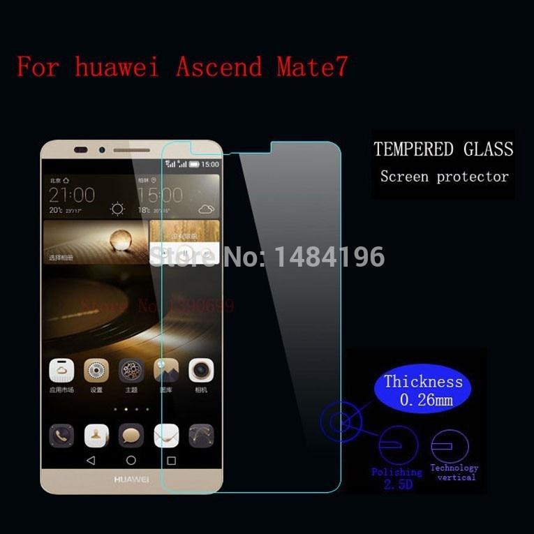 9H edzett üveg képernyővédő fólia a Huawei Ascend Mate - Mobiltelefon alkatrész és tartozékok