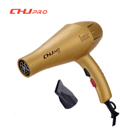 CHJ Hair Dryer 1800 Watts Ionic Hair Professional Hairdryers Yellow Hair Blower Travel Household Hair Style