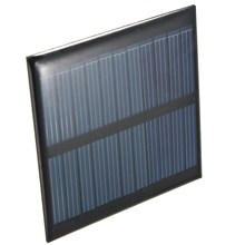 Hot Sale 5.5V 0.6W 90mA Mini Portable Polycrystalline silicon Solar Panel Module Fit Cell Phone Toy DIY 65x65x3mm