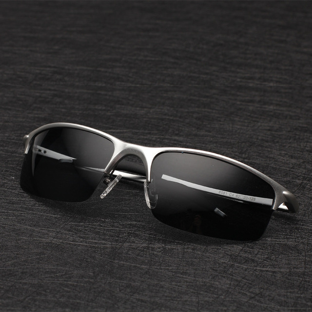 Mens Aluminum Magnesium Alloy Polarized Sunglasses Luxury Brand Designer Sunglasses Eyewear Drivers Fishing Sun Glasses