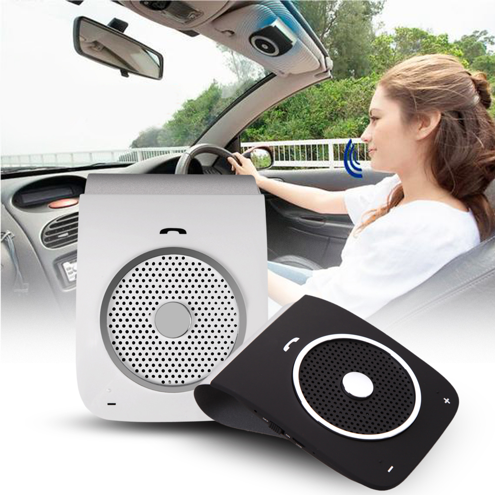 USB Car Charger with bluetooth handfree voice dial Sunvise USB Cigarette Lighter Charger Audio Music Speaker