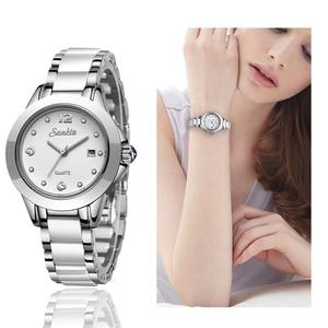 Image 5 - SUNKTA 2019 Top Luxury Brand Womens Rose Gold Watches Ladies Ultra thin Clock Fashion Boutique Girl Watch Senhoras Assistir