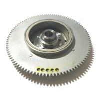 New 61T 85550 10 00 ROTOR ASSEMBLY Flywheel Replaces For Yamaha Outboard Engine 25HP 30HP 61N