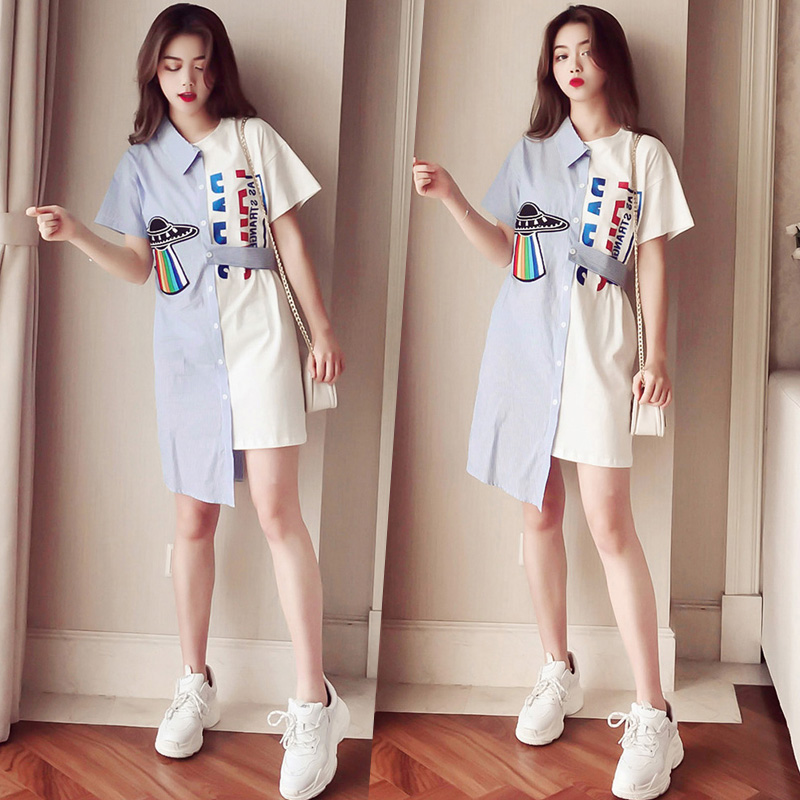 girls dress children 2019 KIDS clothes 15 16 years old 160 170 cm teens clothing dress