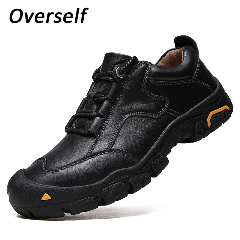 Men Shoes Spring High Quality Lace Up Men Casual Shoes Footwear For Man Sneakers Casual Mens Shoes Leisure Handmade Black Brown