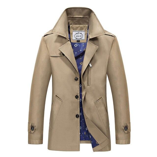 """2016 Coreano casaco longo casaco de inverno casuais homens """"s jaqueta de forma Magro dos homens"""" s espessamento jaqueta S-3XL quatro cores MK401"""