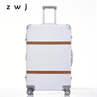 NEW Aluminum Frame PC Rolling Hardside Luggage Suitcase Travel Trolley Case Cabin Suitcase