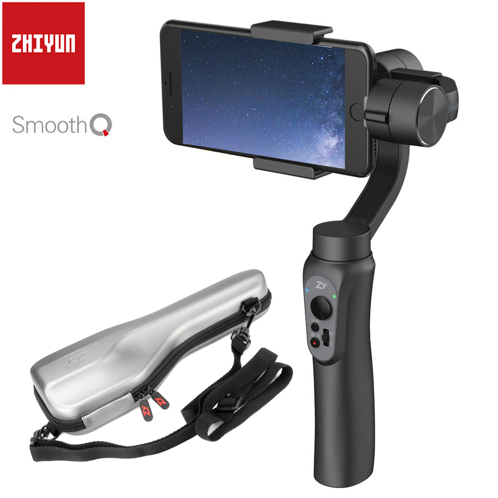 8 X Smartphone 3-Axis S7 Stabilizer Smooth for 7 PK 7Plus Q 8Plus iPhone Handheld Gimbal S8 Samsung S9 6S S9+ ZHIYUN 4 2