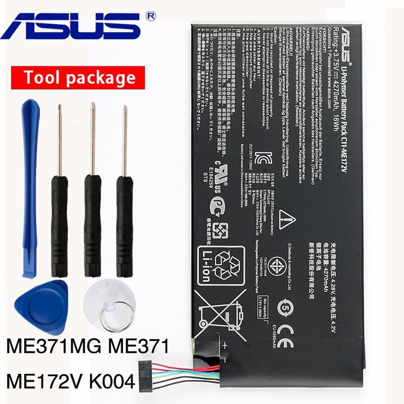 Genuine ASUS battery C11-ME172V 4270mAh for ASUS MeMo Pad ME172V Tablet PC