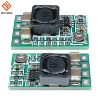 5Pcs Mini DC-DC 12-24V to 5V 3A Step Down Module Board Voltage Buck Adjustable Power Supply Converter 1.8V 2.5V 3.3V 5V 9V 12V