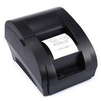 Original ZJ 5890K Mini 58mm Low Noise POS Receipt Thermal Printer With USB Port EU PLUG