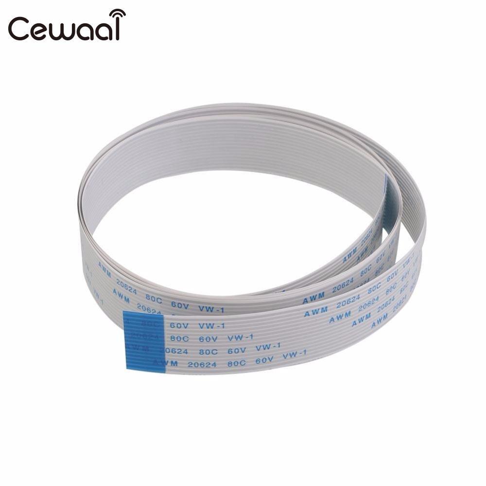 Cewaal CSI Flat Ribbon FFC Cable Line Wire Cord For the Raspberry Pi Camera 200cm/100cm/50cm/30cm/15cm