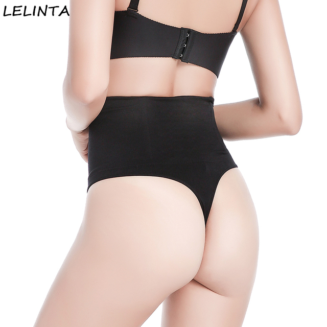 4c4d6fffb8643 LELINTA Steel Boned Waist Tummy Control Body Shaper Slimming Pants Sexy  Comfortable Seamless Butt Lifter Panties