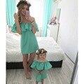 Одинаковые наряды для всей семьи, модное платье, платье для матери и дочери, платья для мамы и дочки, одежда, семейная одежда