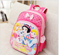 Princess and Mickey Waterproof Printing School Bags Violetta Backpack Orthopedic Schoolbag For Girls Mochila Escolar