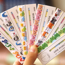 36 pcs/Lot One point marker Post memo notes Animal birds cat penguin music marker stationery office  School supplies A6783