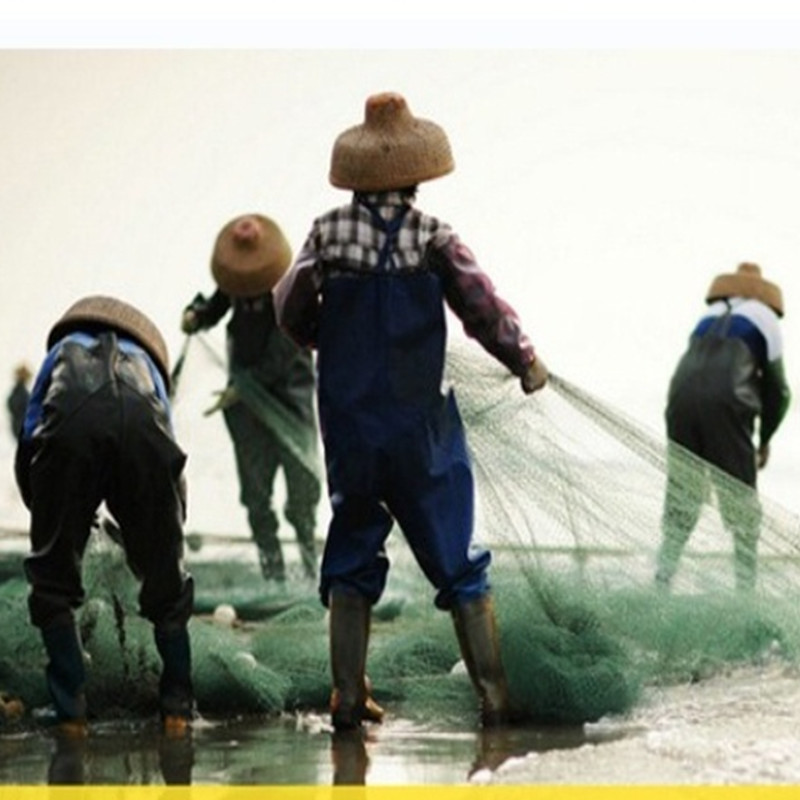 Profundidade 2m comprimento da rede de pesca