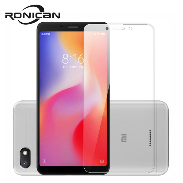 """2PACK 2. 5D 9H Tempered Glass For Xiaomi Redmi 6A Screen Protector For Xiaomi Redmi 6 Toughened Protective Film 5.45"""" Phone"""
