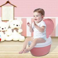 Children Simulation Mini Toilet Infant Pony Bucket Potty Seat Portable Toilet Training Urinal Potties Ergonomic Backrest Design