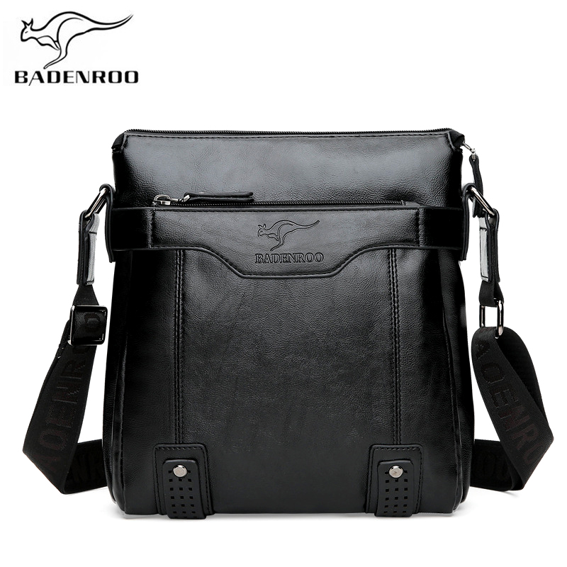 5e771206e45d Badenroo New Male Casual Business Shoulder Crossbody Bags Men Leather  Messenger Bags Brand Designer Handbags Fashion