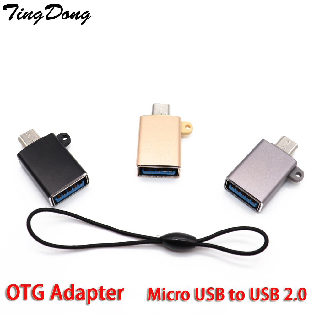 Micro USB To USB 2.0 OTG Data Adapter For Pendrive Android Smartphone Tablet Transfer Data Cable Adaptor